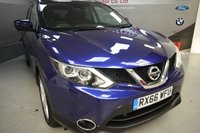 USED 2016 66 NISSAN QASHQAI 1.5 N-CONNECTA DCI 5d 108 BHP Panoramic roof, Sat Nav, Free Tax, Cruise control, Lane guide assist