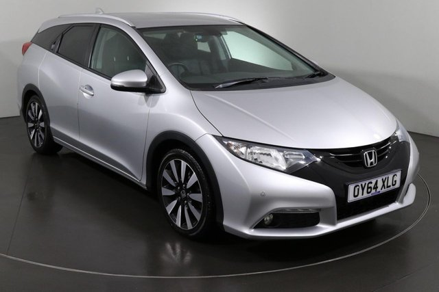 2014 64 HONDA CIVIC 1.8 I-VTEC SR TOURER 5d 140 BHP, ULEZ EXEMPT