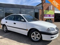 USED 2002 52 TOYOTA AVENSIS 1.8 VERMONT VVT-I 5d 127 BHP 16 MAIN DEALER STAMPS! Michelin Tyres All Round!!