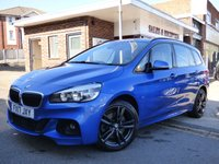 USED 2017 17 BMW 2 SERIES 2.0 220D M SPORT GRAN TOURER 5d 188 BHP FULL BMW SERVICE HISTORY SEVEN SEATER