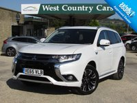 USED 2015 65 MITSUBISHI OUTLANDER 2.0 PHEV GX 4H 5d AUTO 161 BHP High Specification, VAT Qualifying