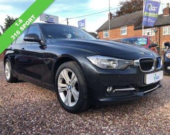 2013 BMW 3 SERIES 1.6 316I SPORT 4d 135 BHP £10195.00