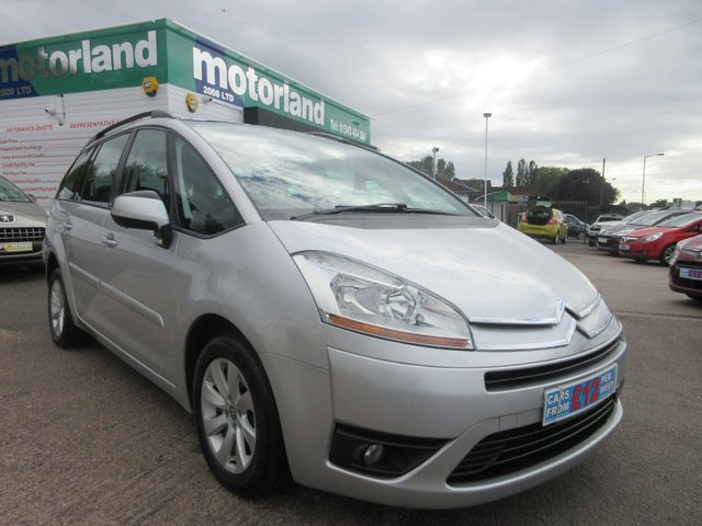 USED 2010 10 CITROEN C4 GRAND PICASSO 1.6 VTR PLUS HDI EGS 5d AUTO 107 BHP ** 01543 454566 ** JUST ARRIVED **