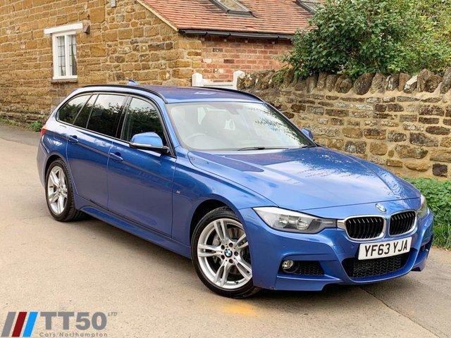 2013 63 BMW 3 SERIES 3.0 335D XDRIVE M SPORT TOURING 5d AUTO 309 BHP