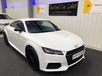 USED 2017 67 AUDI TT 1.8 TFSI BLACK EDITION 2d 178 BHP