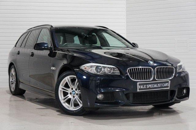 2012 12 BMW 5 SERIES 2.0 520D M SPORT TOURING 181bhp (SAT NAV)