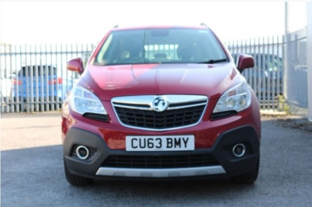 USED 2013 63 VAUXHALL MOKKA 1.4 TECH LINE S/S 5d 138 BHP SATELLITE NAVIGATION - 4 WHEEL DRIVE - DAB RADIO - 12 MONTH MOT - REAR PARKING SENSORS - 3 MONTH WARRANTY