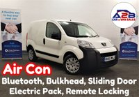 USED 2015 65 PEUGEOT BIPPER 1.3 HDI PROFESSIONAL in White with Air Conditioning, Bluetooth, Bulkhead, Sliding Door and more ** Drive Away Today** Over The Phone Low Rate Finance Available, Just Call us on 01709 866668 **