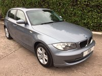 2007 BMW 1 SERIES 2.0 118D SE 5d 141 BHP £3475.00