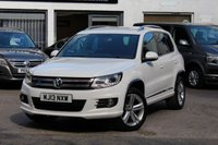 2013 VOLKSWAGEN TIGUAN 2.0 TDI 140PS R-LINE TDI BLUEMOTION TECHNOLOGY 4MOTION 4X4 4WD £13990.00