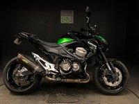 2015 KAWASAKI Z800 ABS. 8515 MILES. AKRAPOVIC EXHAUST. FSH. TAIL TIDY £4799.00