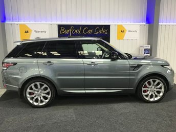 2014 LAND ROVER RANGE ROVER SPORT 3.0 SDV6 AUTOBIOGRAPHY DYNAMIC 5d AUTO 288 BHP £38990.00