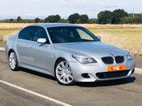 USED 2008 08 BMW 5 SERIES 3.0 530D M SPORT 4d AUTO 232 BHP FSH 2 OWNERS HPI CLEAR SAT NAV