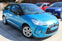 USED 2013 13 CITROEN DS3 1.6 DSTYLE 3d 120 BHP **** FULL MAIN DEALER SERVICE HISTORY ****
