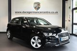 """USED 2014 64 AUDI A3 2.0 TDI SPORT 5DR AUTO 148 BHP full audi service history - £30 road tax Finished in a stunning black styled with 17"""" alloys. Upon opening the drivers door you are presented with cloth upholstery, full audi service history, bluetooth, dab radio, sport seats, climate control, heated mirrors, auxiliary port"""