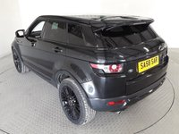 """USED 2011 58 LAND ROVER RANGE ROVER EVOQUE 2.2 SD4 PRESTIGE LUX 5d AUTO 190 BHP STUNNING SANTORINI BLACK METALLIC WITH FULL EBONY LEATHER UPHOLSTERY. NEW MOT ON PURCHASE. FULL GLASS PANORAMIC ROOF WITH ELECTRIC BLIND. 19"""" GLOSS BLACK ALLOY WHEELS. DIGITAL TV TUNER WITH SPLIT SCREEN. MERIDIAN SOUND SYSTEM. DAB RADIO. BLACK PACK. PRIVACY GLASS. ELECTRIC SEATS. HEATED FRONT SEATS. 360 CAMERA SYSTEM. SELF PARKING SYSTEM. SATELLITE NAVIGATION. AIR CONDITIONING. ELECTRIC WINDOWS. REMOTE CENTRAL LOCKING. MEMORY FRONT SEATS. PLEASE GOTO www.lowcostmotorcompany.co.uk TO VIEW OVER 12"""