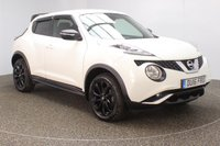 USED 2016 16 NISSAN JUKE 1.5 N-CONNECTA DCI 5DR SAT NAV 1 OWNER 110 BHP SERVICE HISTORY + £20 12 MONTHS ROAD TAX + SATELLITE NAVIGATION + REVERSE CAMERA + BLUETOOTH + CRUISE CONTROL + CLIMATE CONTROL + MULTI FUNCTION WHEEL + DAB RADIO + PRIVACY GLASS + RADIO/CD/AUX/USB + ELECTRIC WINDOWS + ELECTRIC MIRRORS + 17 INCH ALLOY WHEELS