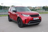 USED 2017 17 LAND ROVER DISCOVERY 2.0 SD4 HSE LUXURY 5d AUTO 237 BHP FIRENZY METALLIC ROOF, BLACK PACK, 21 INCH GLOSS BLACK ALLOYS, 360 CAMERA, PANORAMIC GLASS SUNROOF, PARKING SENSORS, REAR TV/ENTERTAINMENT, HEATED SEATS, A/C, MASSIVE SPEC LOW MILEAGE, SERVICE HISTORY
