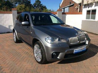 2011 BMW X5 3.0 XDRIVE40D M SPORT 5d AUTO 302 BHP £15995.00