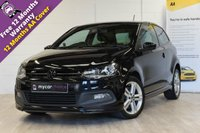 USED 2014 14 VOLKSWAGEN POLO 1.2 R LINE TSI 3d 104 BHP SERVICE HISTORY, DAB RADIO, CRUISE CONTROL, AIR CON, 6 MONTHS WARRANTY