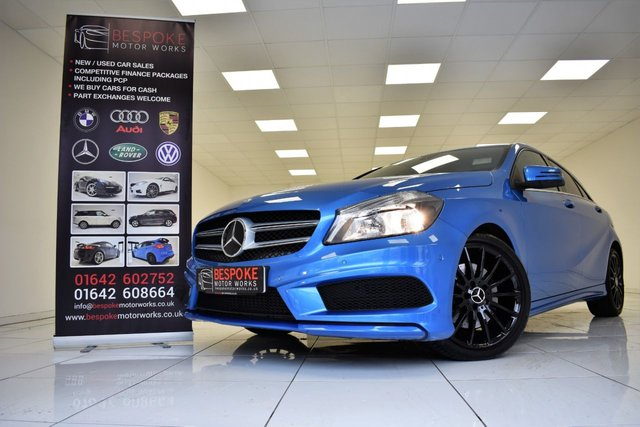 2013 13 MERCEDES-BENZ A CLASS A250 2.0 BLUEEFFICIENCY AMG SPORT AUTOMATIC