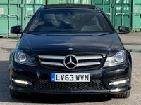 USED 2013 63 MERCEDES-BENZ C CLASS 2.1 C220 CDI BlueEFFICIENCY AMG Sport Sport Coupe 7G-Tronic Plus 2dr PanRoof/DAB/HeatedSeats/Xenons