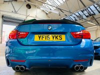 USED 2015 15 BMW 4 SERIES 3.0 435i M Sport 2dr AC SNITZER EXHAUST 2O BBS FSH