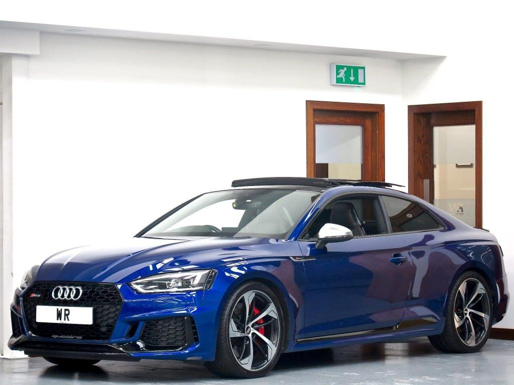 USED 2018 67 AUDI RS5 2.9 TFSI V6 Tiptronic quattro (s/s) 2dr PAN ROOF + EXCLUSIVE PAINT