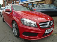 USED 2013 13 MERCEDES-BENZ A CLASS 1.5 A180 CDI BLUEEFFICIENCY AMG SPORT 5d 109 BHP