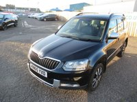 2015 SKODA YETI 2.0 OUTDOOR LAURIN AND KLEMENT TDI DSG SCR 5d AUTO 148 BHP £7995.00