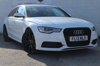 USED 2013 13 AUDI A6 2.0 TDI BLACK EDITION 4d AUTO 175 BHP