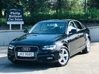 USED 2013 AUDI A4 2.0 TDI QUATTRO SE TECHNIK 4d 174 BHP Full leather heated