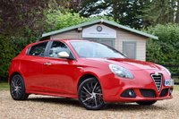 USED 2013 63 ALFA ROMEO GIULIETTA 2.0 JTDM-2 SPORTIVA TCT 5d AUTO 170 BHP NAV, LEATHER, NEW SERVICE & MOT, JUST 2 OWNER, WELL PRESENTED AUTO!