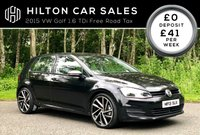 2015 VOLKSWAGEN GOLF 1.6 TDI BLUEMOTION TECHNOLOGY £7500.00