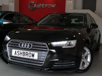 USED 2016 16 AUDI A4 AVANT 2.0 TDI ULTRA SPORT 5d AUTO 150 S/S 1 OWNER FROM NEW, FULL AUDI SERVICE HISTORY, £20 ROAD TAX (104 G/KM), SAT NAV, AUDI SMART PHONE WITH APPLE CAR PLAY & ANDROID AUTO, AUDI CONNECT, DAB RADIO, CRUISE CONTROL WITH SPEED LIMITER, LED DAYTIME RUNNING LIGHTS, BLUETOOTH PHONE & MUSIC STREAMING, REAR PARKING SENSORS, ELECTRIC TAILGATE,  SPORT SEATS, LEATHER TIPTRONIC MULTIFUNCTION STEERING WHEEL (PADDLE SHIFT), LIGHT & RAIN SENSORS, AUDI DRIVE SELECT, KEYLESS START, WIFI, AUX INPUT, 2x USB PORTS, CD WITH 2x SD CARD READERS & SIM CARD