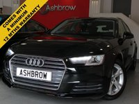 USED 2016 16 AUDI A4 AVANT 2.0 TDI ULTRA SPORT 5d AUTO 150 S/S 1 YRS RAC WARRANTY INCLUDED, 1 OWNER FROM NEW, FULL AUDI SERVICE HISTORY, £20 ROAD TAX (104 G/KM), SAT NAV, AUDI SMART PHONE WITH APPLE CAR PLAY & ANDROID AUTO, AUDI CONNECT, DAB RADIO, CRUISE CONTROL WITH SPEED LIMITER, LED DAYTIME RUNNING LIGHTS, BLUETOOTH PHONE & MUSIC STREAMING, REAR PARKING SENSORS, ELECTRIC TAILGATE,  SPORT SEATS, LEATHER TIPTRONIC MULTIFUNCTION STEERING WHEEL (PADDLE SHIFT), LIGHT & RAIN SENSORS, AUDI DRIVE SELECT, KEYLESS START, WIFI, AUX INPUT, 2x USB PORTS, CD WITH 2x SD CARD READERS & SIM CARD
