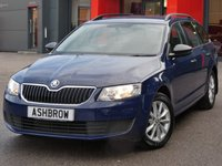 USED 2015 65 SKODA OCTAVIA ESTATE 1.2 TSI S 5d 110 S/S 1 OWNER FROM NEW, FULL SKODA SERVICE HISTORY, £30 ROAD TAX (114 G/KM), UPGRADE TOOL KIT, UPGRADE STEEL SPARE WHEEL, MANUAL 6 SPEED, START STOP TECHNOLOGY, 16 INCH 10 SPOKE ALLOYS, REAR MUD FLAPS, GREY CLOTH INTERIOR, LEATHER STEERING WHEEL, TRIP COMPUTER, AIR CONDITIONING, AUX & USB INPUTS, DAB RADIO, BLUETOOTH PHONE & MUSIC STREAMING, SD CARD READER, SMART LINK READY (ACTIVATION REQUIRED), ELECTRIC WINDOWS, ELECTRIC HEATED DOOR MIRRORS, ISO FIX, FOLDING REAR SEATS