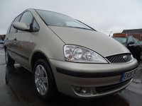 USED 2006 06 FORD GALAXY 1.9 ZETEC TDDI 5d 130 BHP MINT CAR 7 SEATER