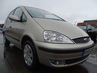 2006 FORD GALAXY 1.9 ZETEC TDDI 5d 130 BHP MINT CAR 7 SEATER £1895.00