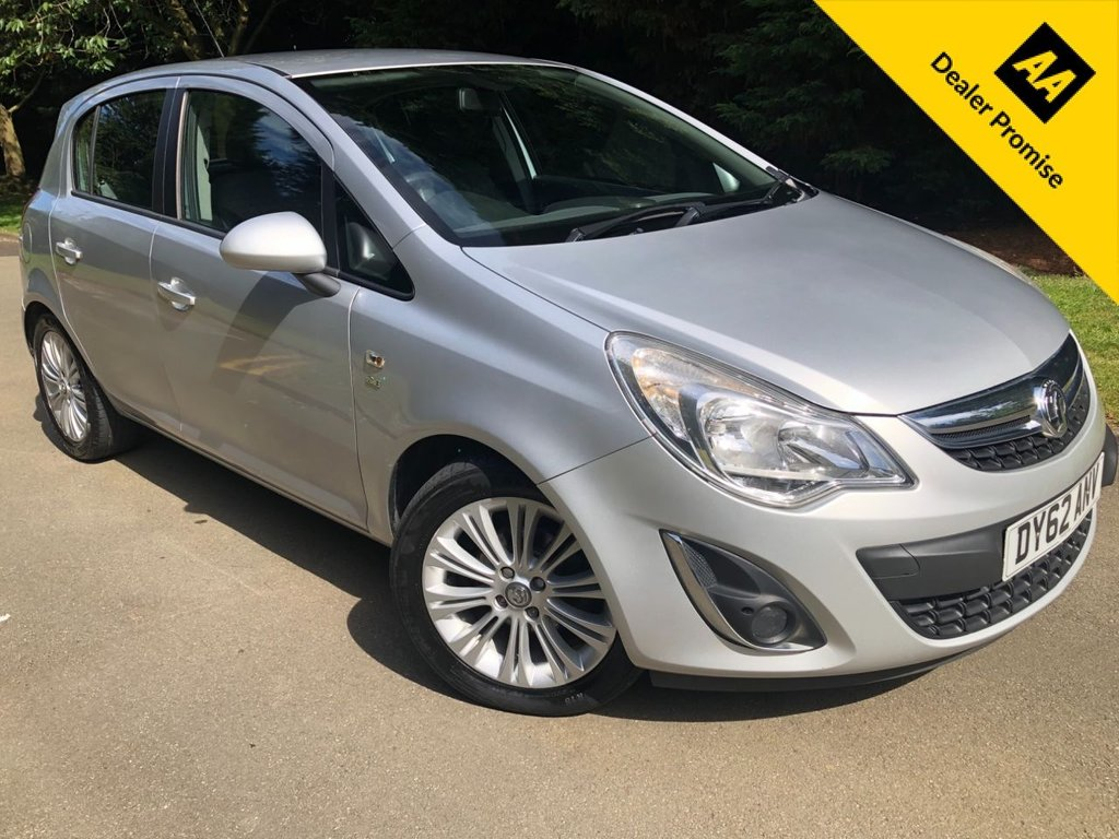 USED 2012 62 VAUXHALL CORSA 1.4 SE 5d 98 BHP ONLY 2 PREVIOUS OWNERS, ALLOYS