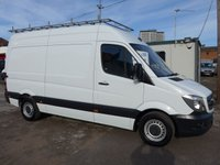 2016 MERCEDES-BENZ SPRINTER 313 CDI MWB HI ROOF, 130 BHP [EURO 5] £SOLD