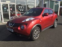 USED 2013 13 NISSAN JUKE 1.6 TEKNA 5 DOOR LEATHER SAT NAV 117 BHP