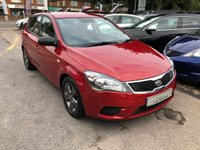 USED 2010 60 KIA CEED 1.4 STRIKE 5d 89 BHP GREAT SPEC AND VALUE, FULL HISTORY, SUPPLIED WITH A NEW MOT