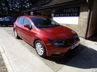 USED 2013 13 SEAT LEON 2.0 TDI SE 5d 150 BHP * FULL SERVICE HISTORY * £20 ROAD TAX * SAT-NAV * DAB RADIO * HEATED SEATS *