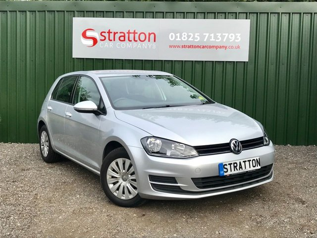 2013 13 VOLKSWAGEN GOLF 1.6 S TDI BLUEMOTION TECHNOLOGY 5d 103 BHP ZERO ROAD TAX