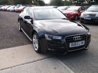 USED 2013 63 AUDI A5 2.0 SPORTBACK TDI S LINE 5d 134 BHP Great Driving Audi, Only £30 a Year Road Tax and Lovely Black Leather Interior!