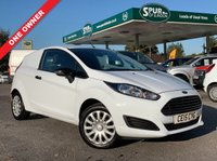 USED 2015 15 FORD FIESTA VAN 1.5 BASE TDCI 3d 74 BHP One Owner, Finance Arranged, Bluetooth Phone Connectivity.