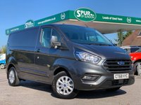 USED 2019 68 FORD TRANSIT CUSTOM 2.0 280 LIMITED P/V L1 H1 1d 130 BHP NEW Shape, Air Con, Euro 6, 130 BHP, Only 12,900 Miles.