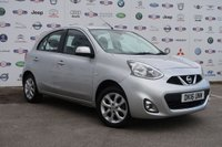 USED 2016 16 NISSAN MICRA 1.2 ACENTA 5d AUTO 79 BHP