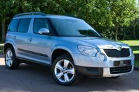 USED 2010 10 SKODA YETI 2.0 TDI SE 5dr AA INSPECTED AND APPROVED